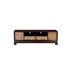 新中式家具 复古黄色电视柜